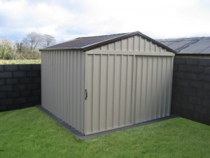 a metal shed for your garden is a great way to keep all your garden machinery garden furniture bicycles and outdoor equipment safe from the elements - Garden Sheds Ni
