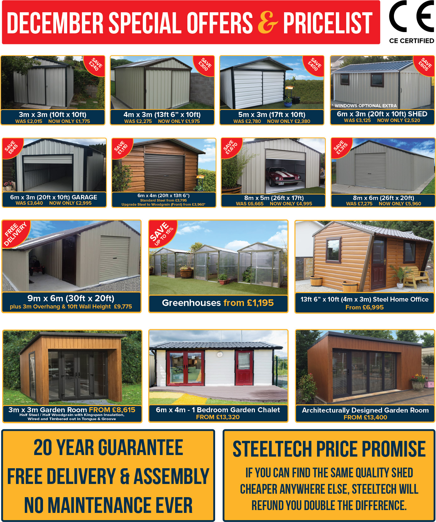 special offers steeltech sheds northern ireland - Garden Sheds Ni